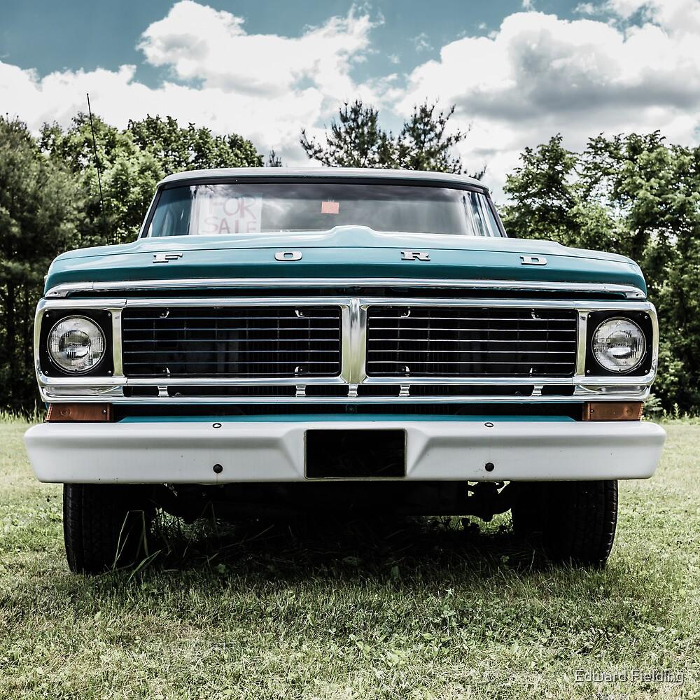1970 Ford Truck by Edward Fielding