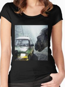 Jurassic Park  Women's Fitted Scoop T-Shirt