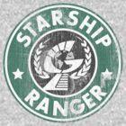 Starship Ranger: Washed starbucks style by Wipi Oly