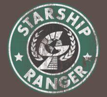 Starship Ranger: Washed starbucks style Kids Clothes