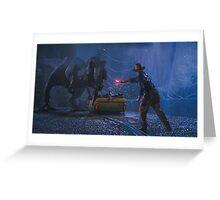 Jurassic Park  Greeting Card