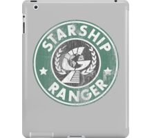 Starship Ranger: Washed starbucks style iPad Case/Skin