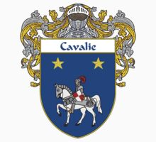 Cavalie Coat of Arms/Family Crest Kids Tee
