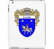 Cavalie Coat of Arms/Family Crest iPad Case/Skin