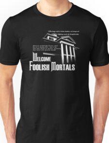 Haunted Mansion Ghost Host Speech Unisex T-Shirt