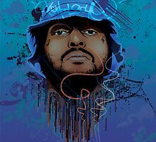 Schoolboy Q Illustration. by SKILLMATIK