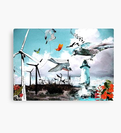 Wind Power Canvas Print