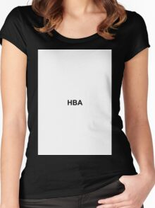 HBA Women's Fitted Scoop T-Shirt
