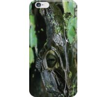 Green crocodile iPhone Case/Skin