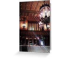 Regent Theatre Greeting Card