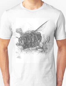 bee , pen on paper Unisex T-Shirt