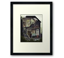 Scene #32: 'The Art School' Framed Print