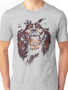 colored lion, indian lion Unisex T-Shirt