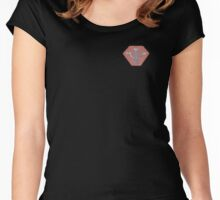 Psi Corp Badge Women's Fitted Scoop T-Shirt
