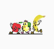 Cute Fruits walking along Unisex T-Shirt