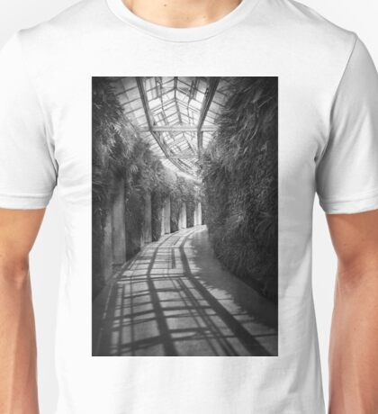 Architecture - The unchosen path - BW Unisex T-Shirt