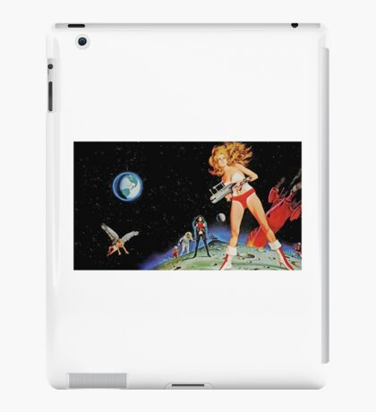 Old Retro Space Advertisement Comic iPad Case/Skin