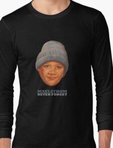 EPCOT Norway Pavilion MAELSTROM NEVER FORGET - Retro Disney Long Sleeve T-Shirt