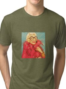 Iris Apfel Tri-blend T-Shirt