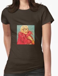 Iris Apfel Womens Fitted T-Shirt