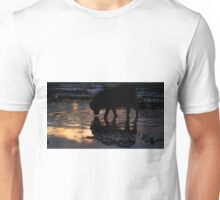 A drink at sunset Unisex T-Shirt
