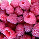 Sweet and delicious raspberries by Ana Belaj