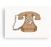 Cockney telephone Canvas Print