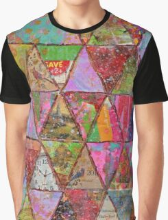 Triangle Junk Mail Graphic T-Shirt
