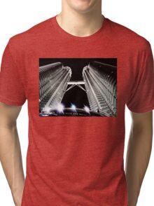 Petronas Towers Tri-blend T-Shirt