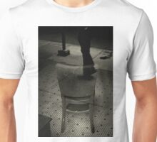 Reflecting on the streets of New York City. Unisex T-Shirt