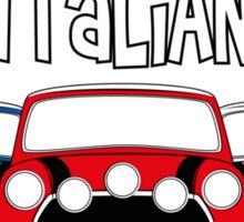 Italian Job Mini Sticker