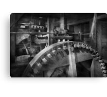 Steampunk - Runs like clockwork Canvas Print