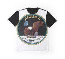 Apollo 11 Logo Old Logo Badge Graphic T-Shirt