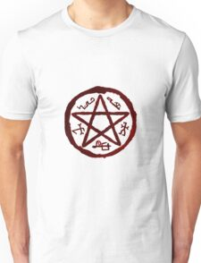 supernatural devils trap  Unisex T-Shirt
