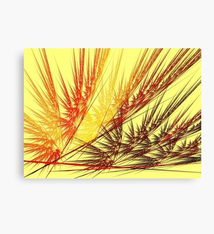 Red Wheat Canvas Print