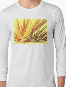 Red Wheat Long Sleeve T-Shirt