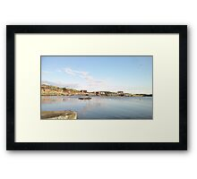 Ocean - In the evening - GBG Framed Print
