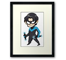 Nightwing || Dick Grayson Framed Print