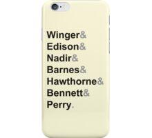 The Greendale Seven iPhone Case/Skin