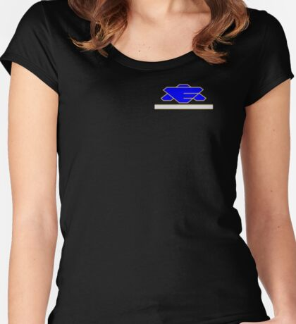 Babylon 5 - Earth Alliance - Command Staff Women's Fitted Scoop T-Shirt