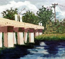 Old Bridge Street Bridge by Jim Phillips