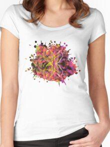 Butterfly Garden Women's Fitted Scoop T-Shirt