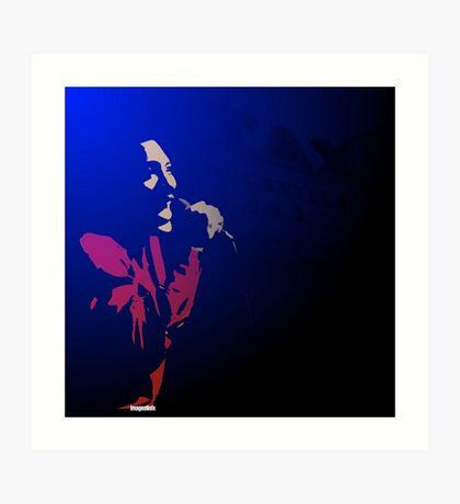 Otis Blue Art Print