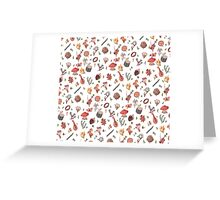 Fairy pattern Greeting Card