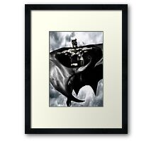 Batman, From the skies Framed Print