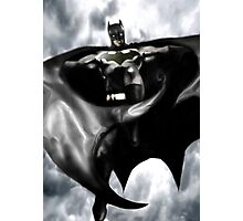 Batman, From the skies Photographic Print