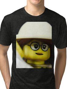 Lego Paleontologist Tri-blend T-Shirt
