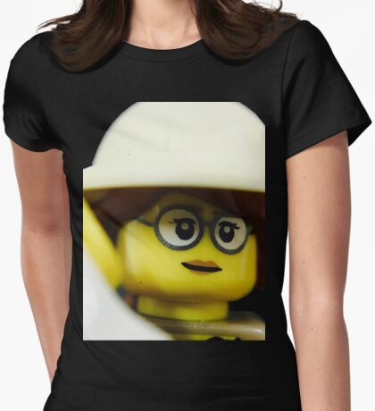 Lego Paleontologist Womens Fitted T-Shirt