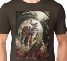 Saint Georgine and the Dragon Unisex T-Shirt