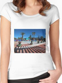 Time to Head to the Pool Women's Fitted Scoop T-Shirt